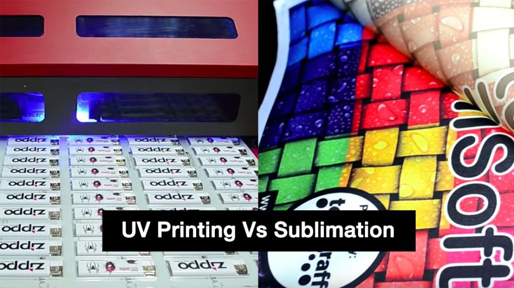 UV Printing Vs Sublimation